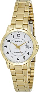 Casio LTP-V004G-7B For Women- Analog, Dress Watch, Stainless Steel