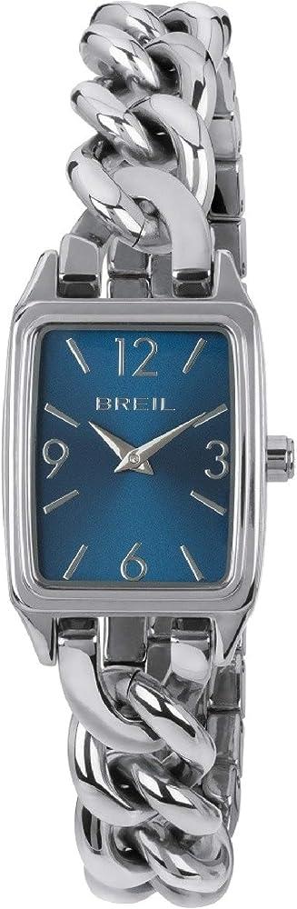 Breil orologio donna collezione night out quadrante blu e bracciale in acciaio TW1642