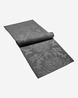 Christian Lacroix Chemin de Table (Gris) - Protection antitache - 50 x 160 cm - Tissu Jacquard en Satin damassé - 100% Cot...