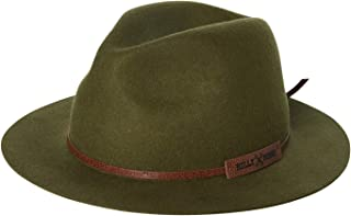Billy Bones Club Men's Jungle Boogie Fedora Felt Wool Green