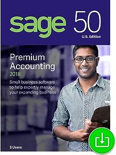 Sage 50 Premium Accounting 2018 U.S. 3-User [Download]