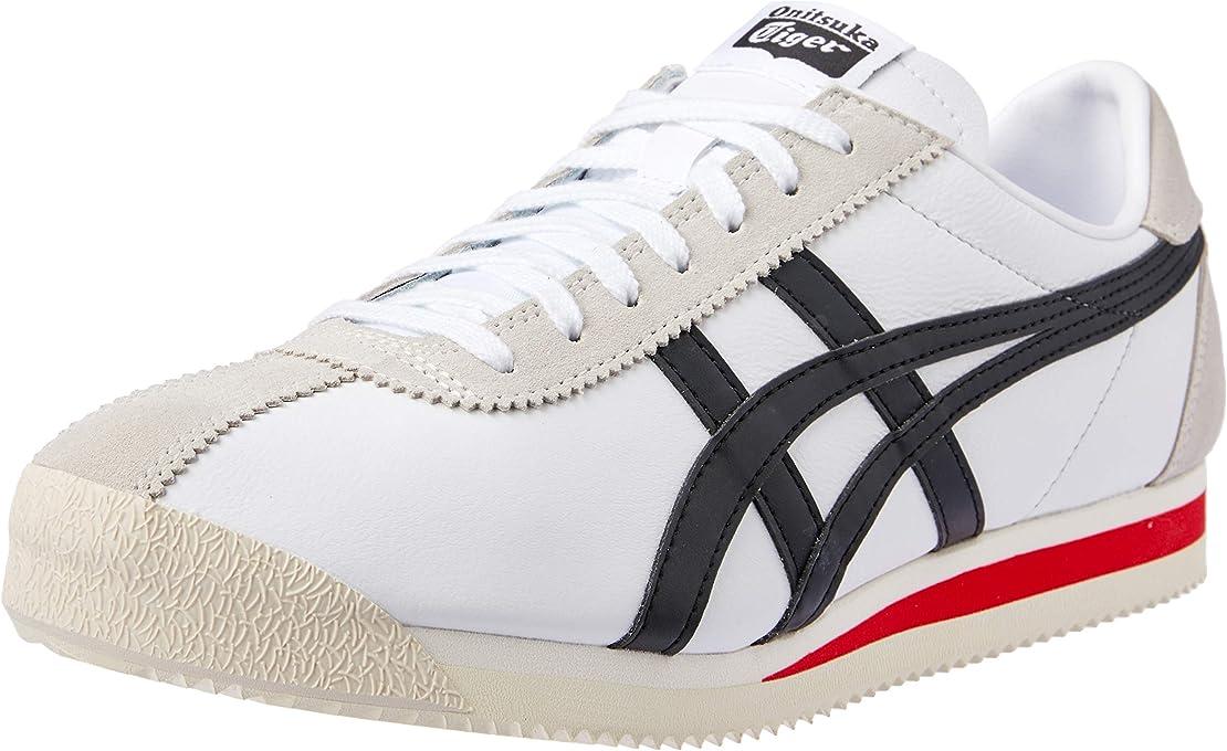 ASICS Australia Tiger Corsair Sneaker, White/Black