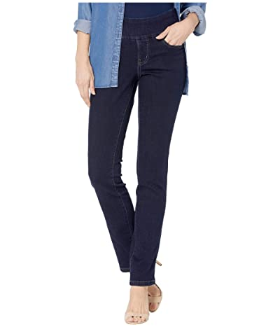 Jag Jeans Peri Pull-On Straight Jeans in Butter Denim (Ink) Women