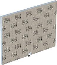LUX ELEMENTS LTOPE1055 TOP-TRS 900 S, standaard badkuip voor bovenkant 900 mm badbekleding, grijs, 90 cm
