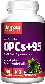 Jarrow Formulas - OPC 95 100mg, Grape Seed Extract, 100 Caps (Pack of 4)