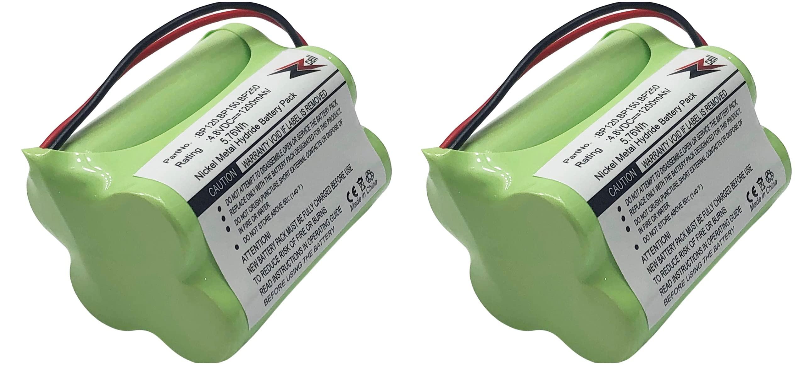 2 Bateria P/ Bearcat Sportcat BP120 BP150 BP180 BP250 Uniden