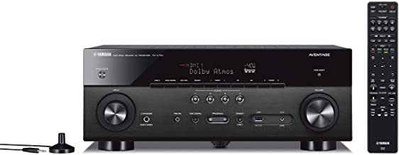 Yamaha RX-A780 AVENTAGE 7.2-Channel AV Receiver with MusicCast - Black