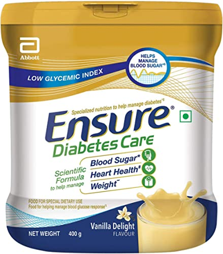 Ensure Diabetes Care Adult Nutrition Health Drink- 400g (Vanilla) product image