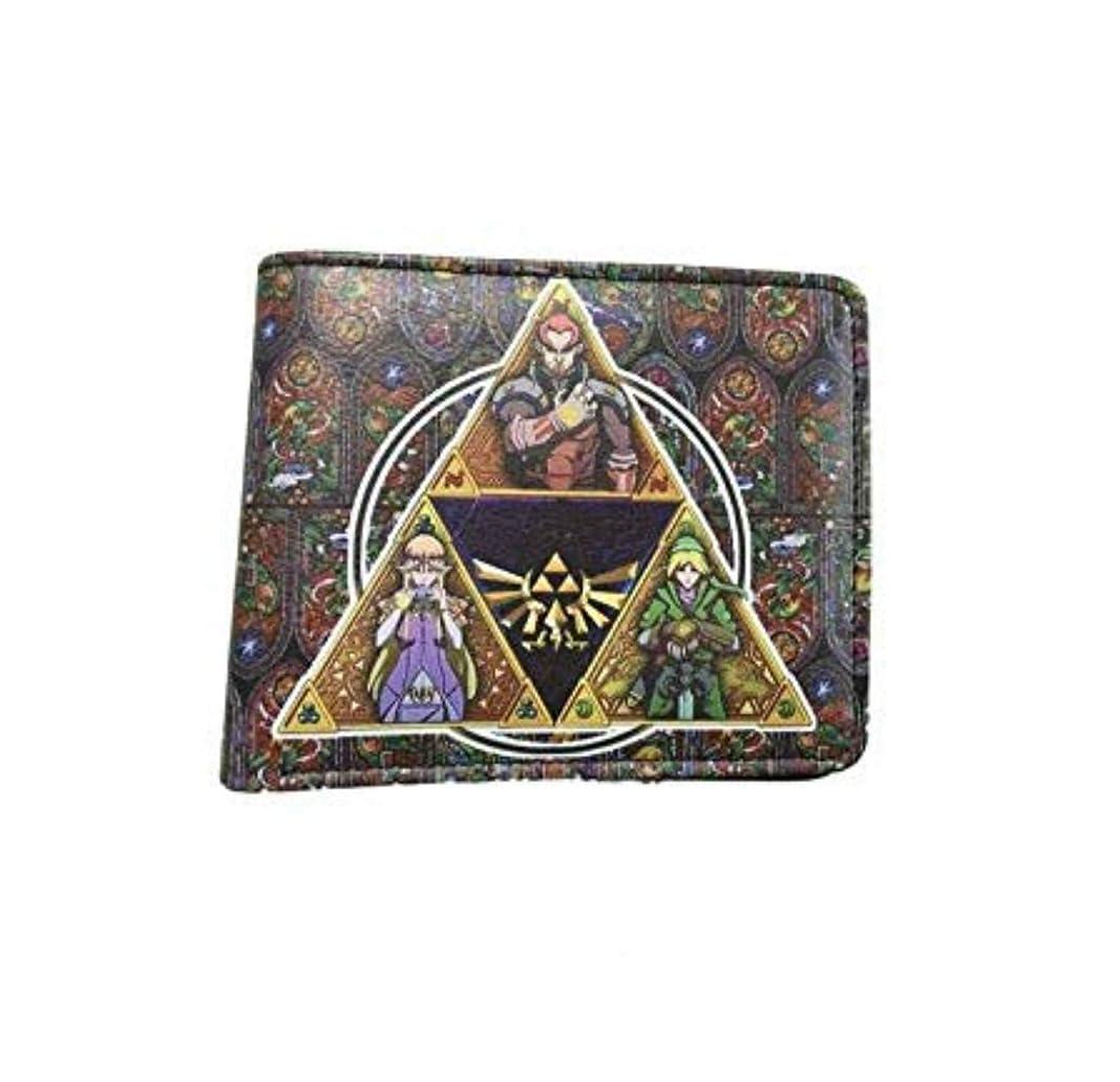 忌み嫌う区心臓ゼルダの伝説二つ折りメンズBoys Wallet w /ギフトボックスby Athena