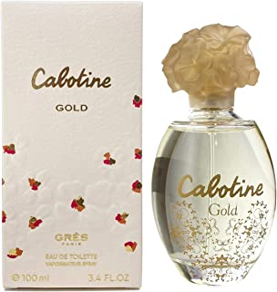 Parfums Gres Cabotine Gold 100ml3.4oz Eau De Toilette Spray EDT Perfume for Her
