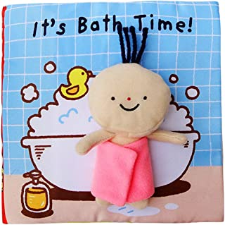 Beauenty Soft Books for Newborn Babies, Soft Activity Baby Book, Educational Toy for Boy & Girl, Touch and Feel Activity, ...