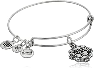 Silvertone Chinese Symbol Good Luck Godmother You Are Loved Circle Bracelet 8