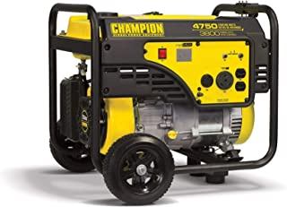 Champion 3800-Watt RV Ready Portable Generator with Wheel Kit (Renewed)