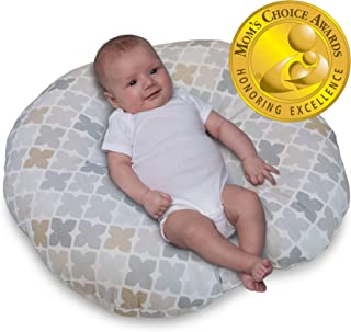 Boppy Original Newborn Lounger, Gray Taupe Four Square
