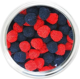 Jelly Belly Raspberries and Blackberries (2.5 Lb Bag)