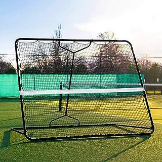 AMAIRS återgående nät, bärbar utomhus baseball och softball pitching träning återstuds maskin fotboll hockey skyddande nät...