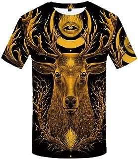 NSBXDWRM Creative Crewneck Quick Drying T Shirts