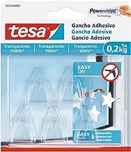 Tesa 77734 – 00001 – 00 zelfklevende haak voor heldere oppervlakken en glas (0,2 kg)