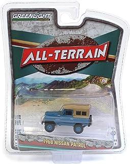 1/64 1968 Nissan Patrol, MT Fuji Blue, All Terrain Series 9 35150-A