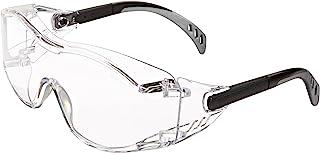 ایمنی دروازه 6980 Cover2 عینک ایمنی عینک محافظ - Over-the-glass (OTG)، لنز روشن، معبد سیاه