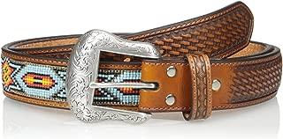 Nocona Men's Blue Beaded Belt