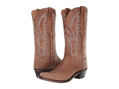 Old West Boots Kayla (Tan Fry) Cowboy Boots