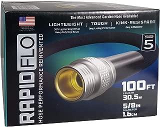 Rapid Flo Light Weight Tough Kink-Resistant Garden Hose 5/8 in 100 ft