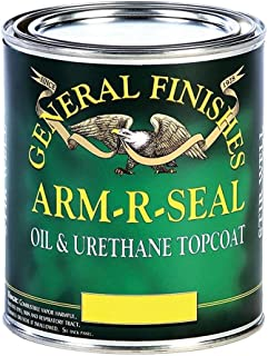 General Finishes Arm R Seal Top Coat, Satin, Gallon