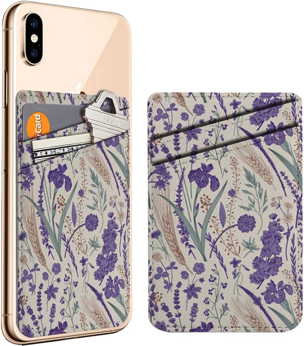 Summertime Flowers Plants Cell Phone Max 86% OFF Seattle Mall Stick Credit Card L On ID