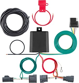 CURT 56334 Vehicle-Side Custom 4-Pin Trailer Wiring Harness for Select Dodge Nitro, Jeep Liberty