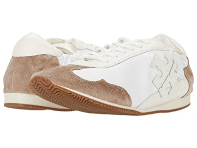 Tory Burch Tory Sneaker (White/New Ivory/Cerbiatto) Women