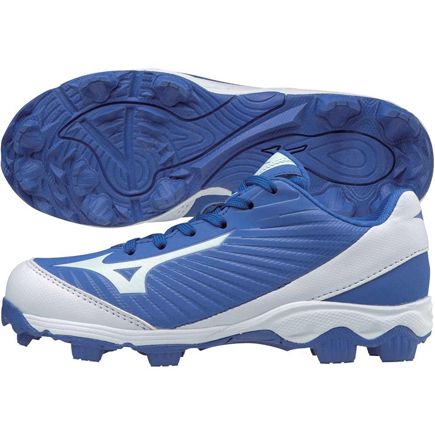 Mizuno (MIZD9) ユニセックス?キッズ 9-Spike Advanced Franchise 9 Molded Youth Baseball Cleat - Low
