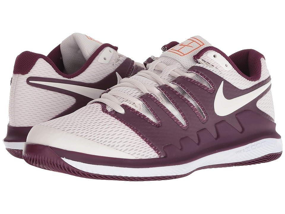 Nike Air Zoom Vapor X (Bordeaux/Phantom/White/Orange Blaze) Women