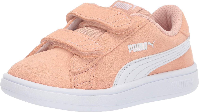 Amazon.com | PUMA Unisex-Child Smash 2 Hook and Loop Sneaker ...