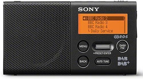 Sony DAB+ Radio, Black (XDRP1DBP)