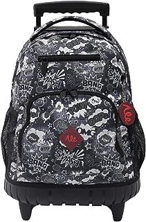 Alentino School Trolley Bag, Grey
