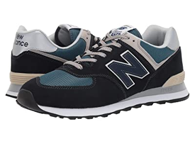 New Balance Classics 574v2-USA (Dark Navy/Marred Blue) Men