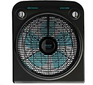 comprar comparacion Cecotec EnergySilence 6000 PowerBox Black Ventilador de Suelo. 5 aspas. 50W. 3 velocidades. Motor de Cobre. con regilla Ro...