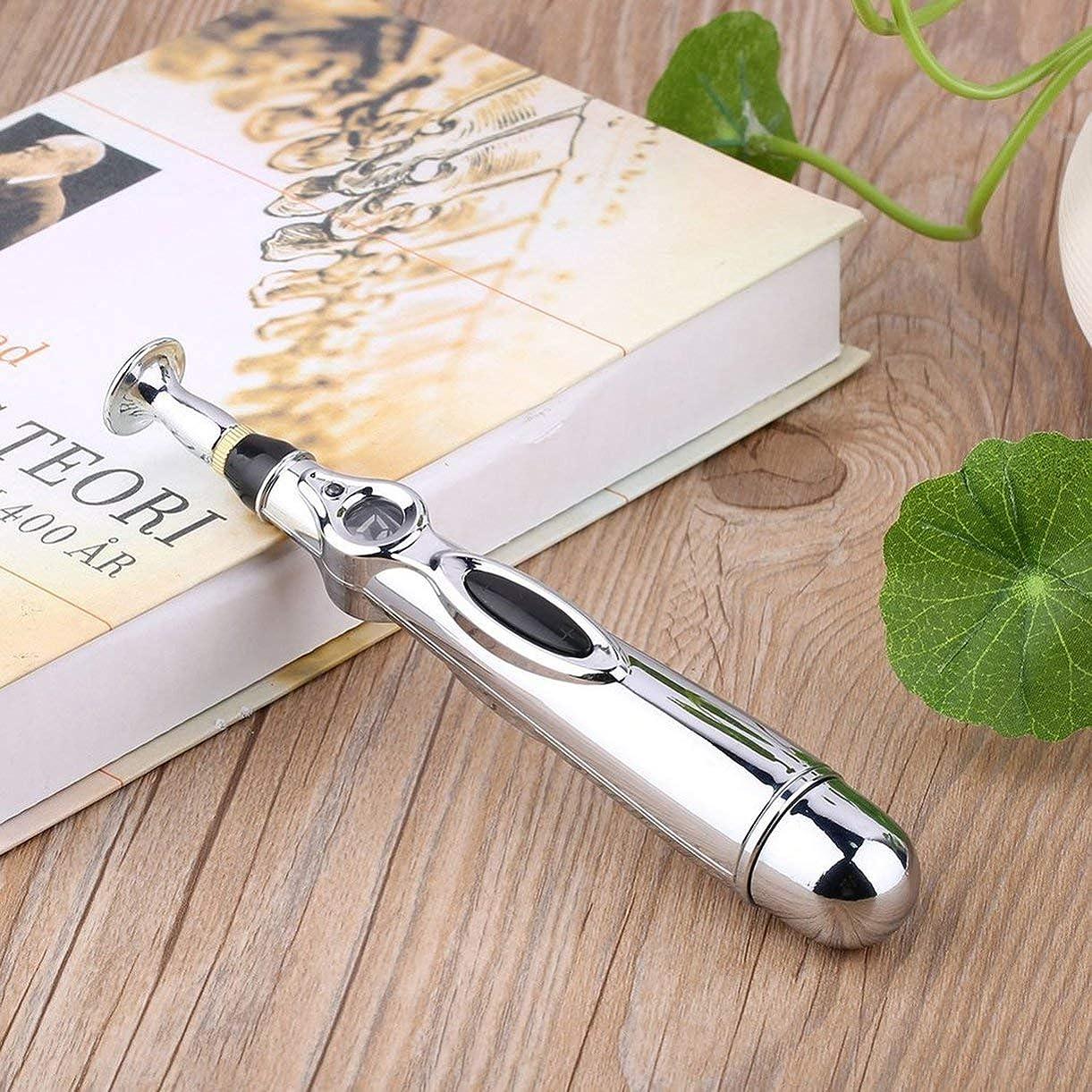 ヒューバートハドソンテクニカル愛情深いNimoliya 電気鍼マッサージペンの健康子午線の痛みを軽減する治療電子子午線エネルギーペンのマッサージボディヘッドネック脚