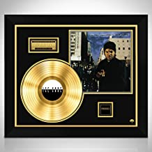 Rare-T Ice Cube 'Amerikkkas Most Wanted' - Limited Collectors' Edition Studio Licensed Gold LP Custom Frame