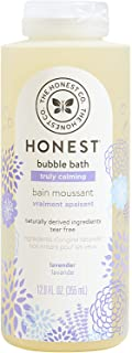 The Honest Company Truly Calming Lavender Bubble Bath | Tear Free Kids Bubble Bath |..