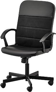 RENBERGET Swivel chair, Bomstad black