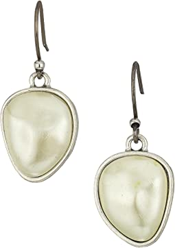 Lucky Brand Pearl Stud Earrings