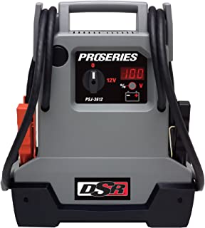 Schumacher PSJ-3612 DSR ProSeries 3600 Peak Amps Jump Starter and Portable Power Unit