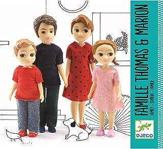 DJECO Dollhouse Thomas & Marion's Family Figures