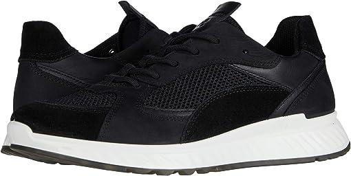 Black/Black/Black/Black Calf Suede/Yak Leather/Yak Nubuck/Textil
