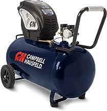 Air Compressor, Portable, Horizontal, 20 Gallon, Oil-Free, 4 CFM @ 90 PSI, 150 PSI..