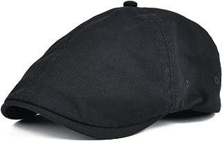 Cotton Washing Flat Cap Cabbie Hat Gatsby Ivy Irish Hunting Newsboy