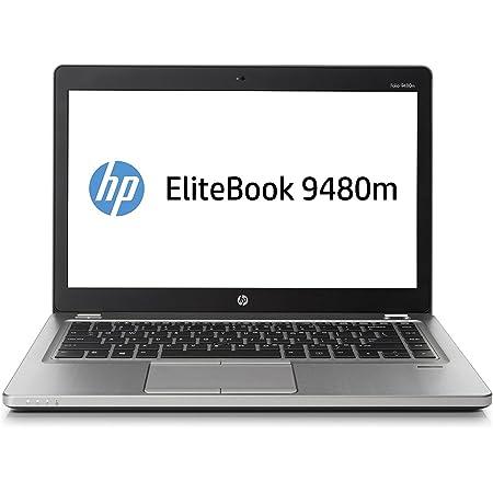 "HP EliteBook Folio 9480M 14"" Laptop, Intel Core i7-4600U 2.1GHz, 8GB RAM, 256GB Solid State Drive, NO ODD, NO CAM, Windows 10 Pro 64Bit (Renewed)"
