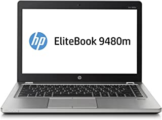 HP EliteBook Folio 9480M 14in Intel Core i5-4310U 2.0GHz 8GB 180GB SSD Windows 10 Professional (Renewed)